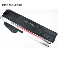 Pro Bomesh 4.2m 2 Sections 30T Carbon Fiber Telescopic Surf Rod Inshore Fishing Rod Travel Surf Rod