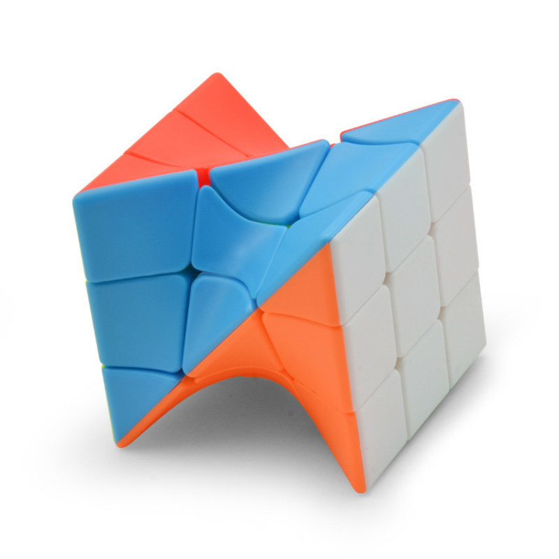3x3 Torsion Magic Neo Cube Cubo magico Cube Coloful Twisted Cube Puzzle Toy Stickerless Puzzles Educational Toys For Children
