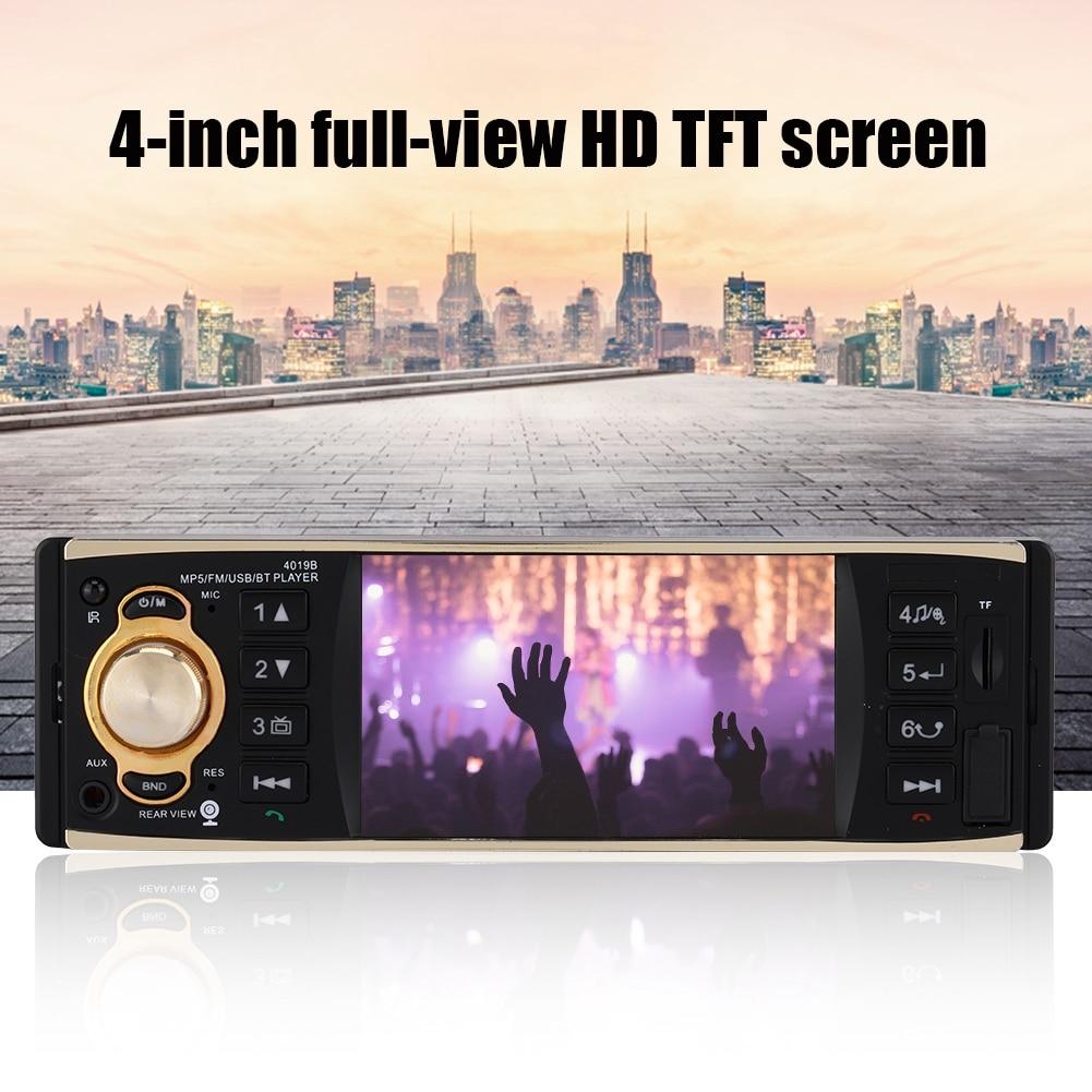 4.1in Mp3 Hd Bildschirm Unterstützung Auto Bluetooth Auto Radio Auto Stereo Audio-player Mp5-4019b In Vielen Stilen Tragbares Audio & Video