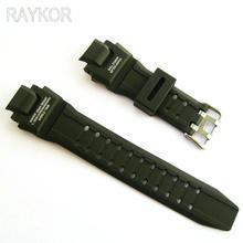 16mm Lug PU Resin Ruber Watch Band Wristwatch Strap for Casio