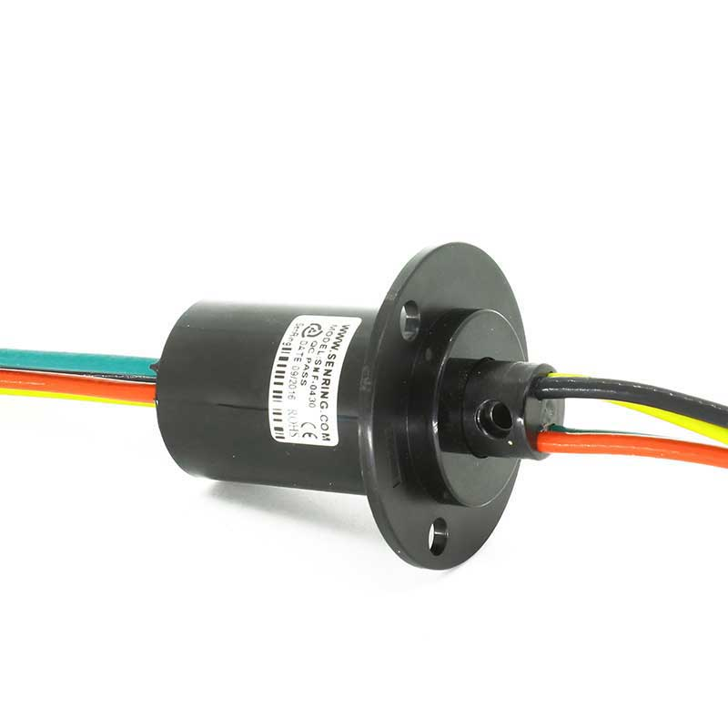 1pc Electric Collector Slip Ring 4 Circuits Large Current 30A Sliprings For Small Wind Power Generator