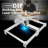 40 x 50cm 2500MW CNC DIY Desktop Laser Engraving Machine Engraver Machine USB DIY Engraver Desktop Wood Router Cutter Printer