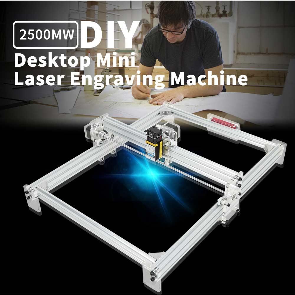 40x50 cm 2500 MW CNC bricolage bureau Laser Machine de gravure graveur Machine USB bricolage graveur bureau bois routeur Cutter imprimante