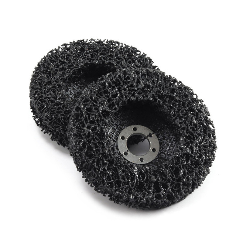 100x16mm Poly Strip Disc Wheel Paint Rust Removal Clean Remove For Angle Grinder in Sponges Cloths Brushes from Automobiles Motorcycles