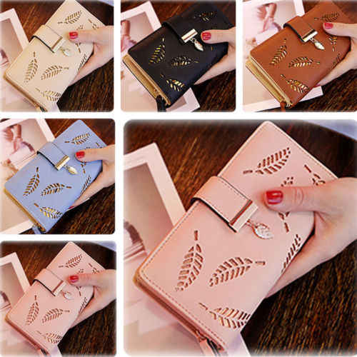 Fashion Women Long Leather Wallet Large Capacity Purse Card/Phone Holder Zip