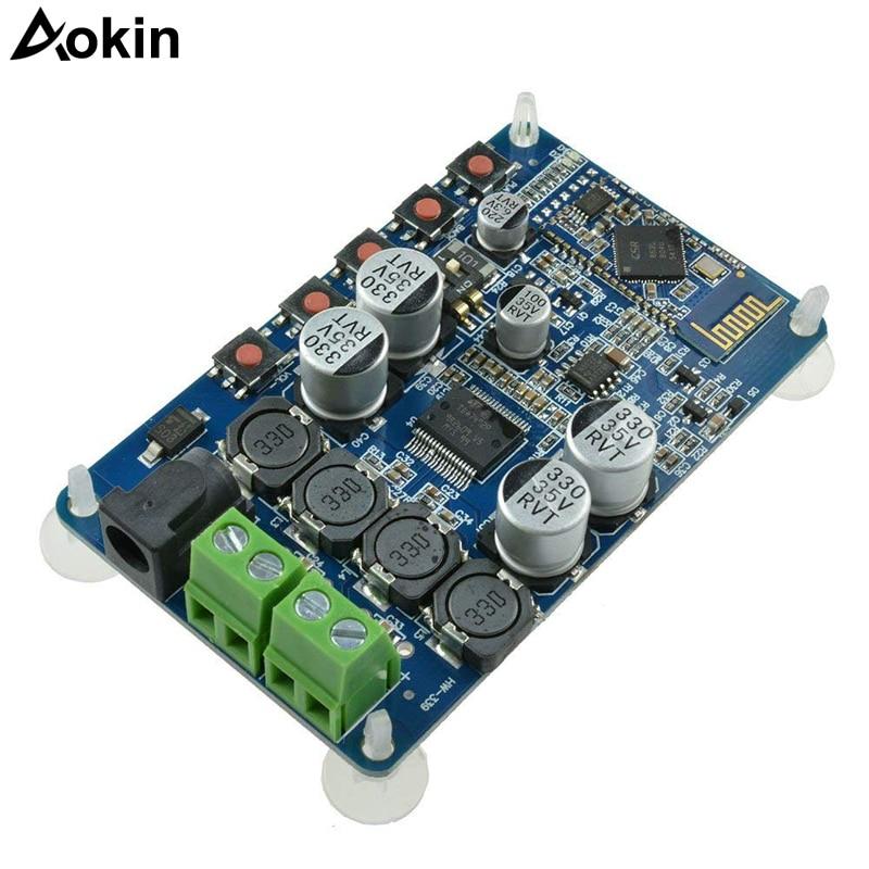 Bluetooth CSR4.0 power amplifier board chip TDA7492P 25W+25W stereo Bluetooth audio receiver digital power amplifier boardBluetooth CSR4.0 power amplifier board chip TDA7492P 25W+25W stereo Bluetooth audio receiver digital power amplifier board