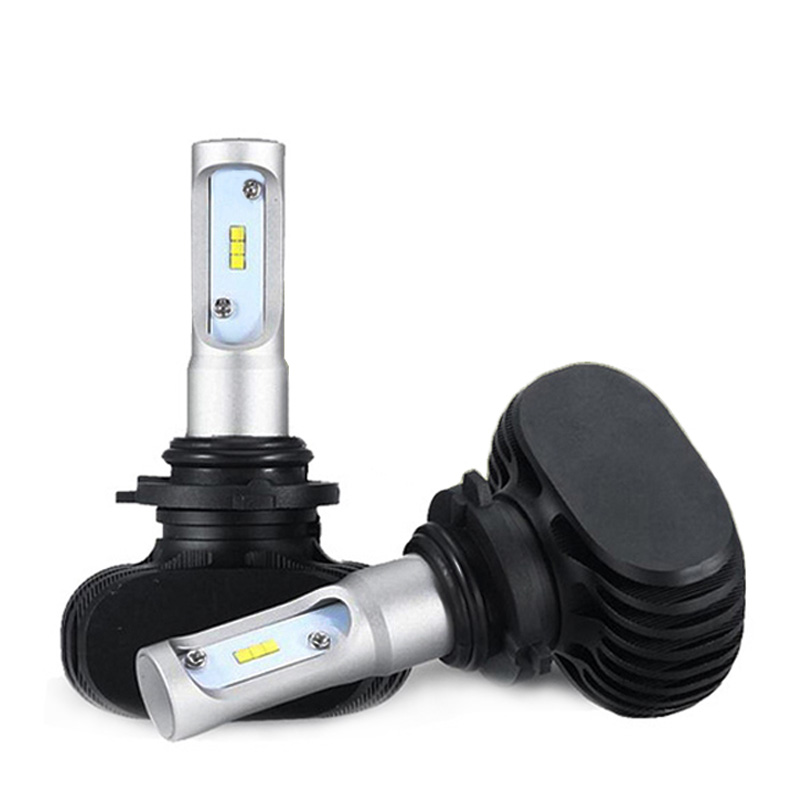 High Power S1 H8 Car Headlight Bulb LED 25W 4000LM 6500K CSP Chip Auto LED Headlight H7 H11 H4 H1 H8 H3 Automibile Fog Headlamp