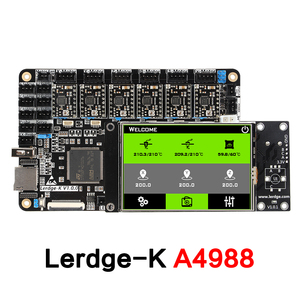 """Image 2 - 3DSWAY 3D Printer Motherboard LERDGE K ARM 32Bit Controller Board  with 3.5"""" Touch Screen DIY Parts WIFI Control Mainboard"""