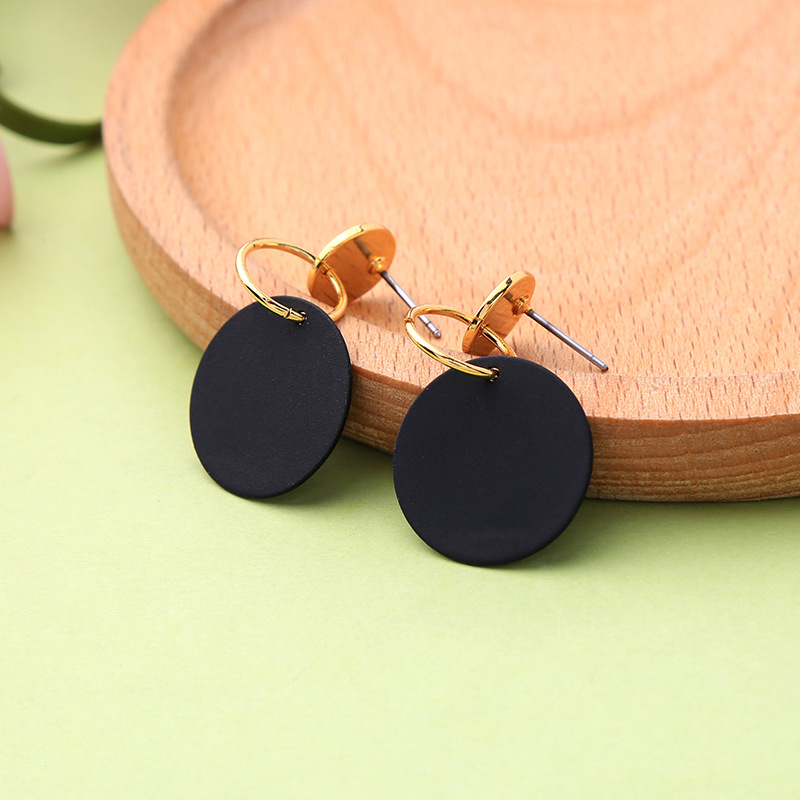 Jewelry Lovely Circle Ear Pendant Nail Earring Fashion Vintage Drop Earrings Women Wedding Bohemian Charm Round Jewelry Gift