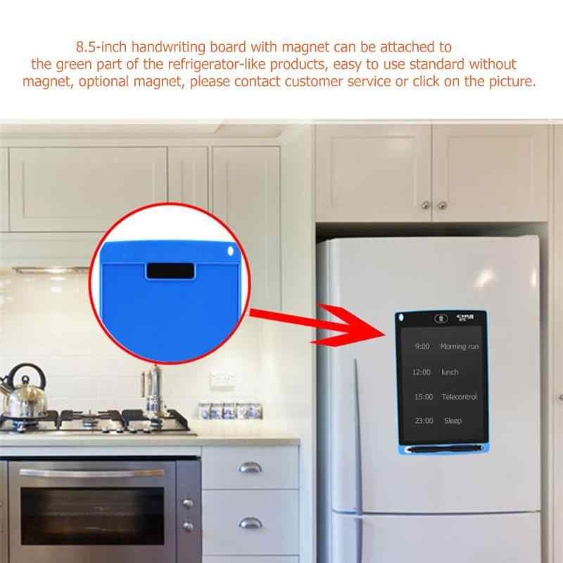 8,5 pulgadas portátil inteligente LCD escritura tableta electrónica Bloc de notas dibujo gráficos escritura a mano Pad Board con batería de botón CR2020