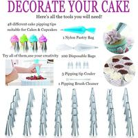 Reference Title: 164 Piece DIY Baking Cake Turntable Set