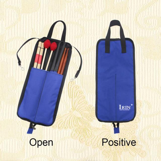 Irin Drum Stick Bag  - Durable Waterproof Storage Pouch Portable Drummer Accessories 1
