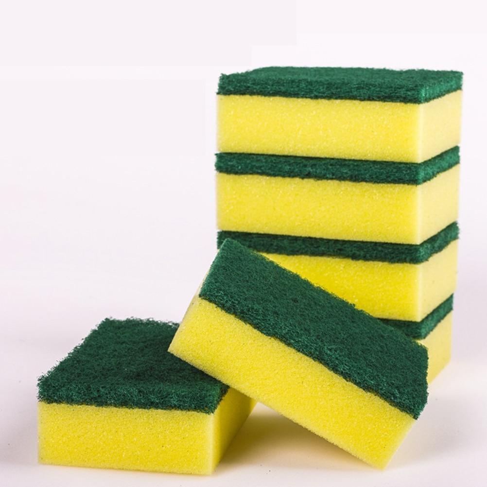 12 20 28Pcs Magic Wipe Dish Sponge Kitchen Clean Scouring Cloth Dish  Washing Sponge 99576289ca4cd