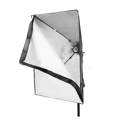 50 x 70cm Photo Video Studio Continuous Lighting Softbox E27 Holder Soft box