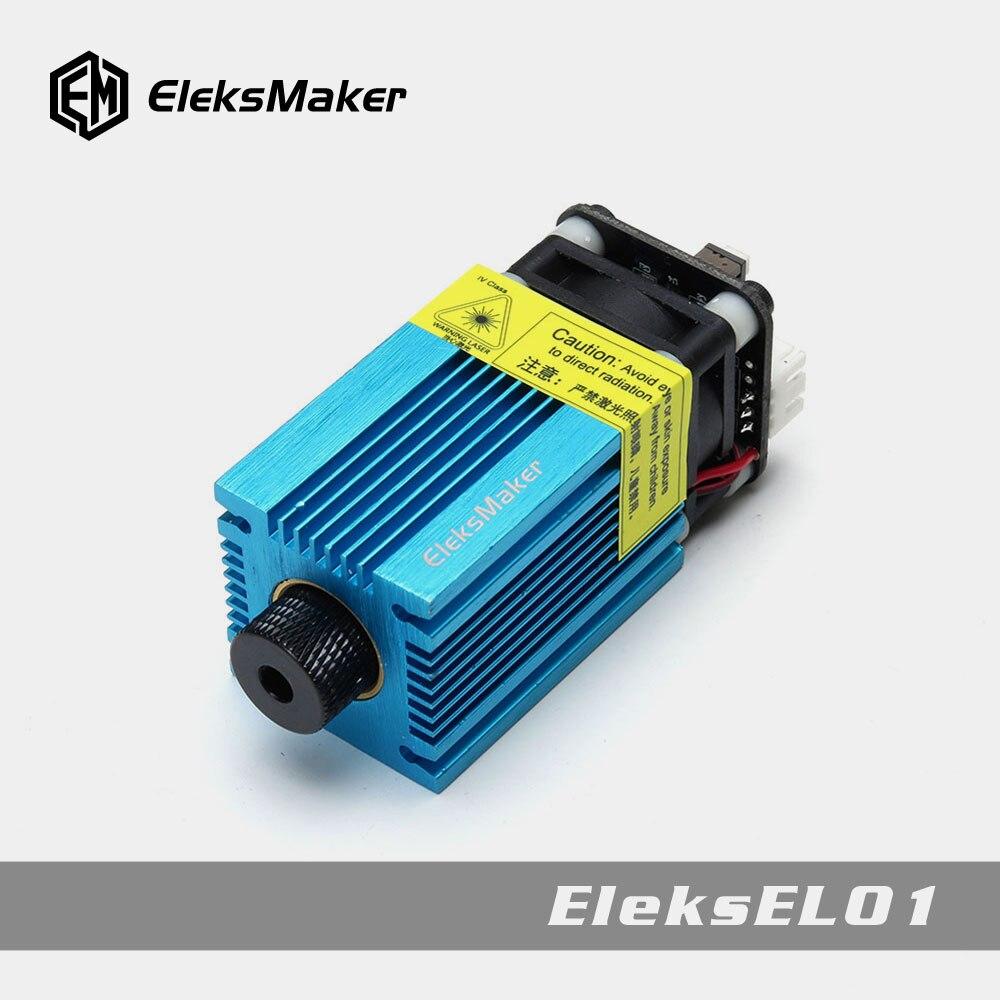EleksMaker EL01 500mW/1600mW/2.5mW Blue Violet Laser Module PWM Modulation 2.54-3P DIY Engraver