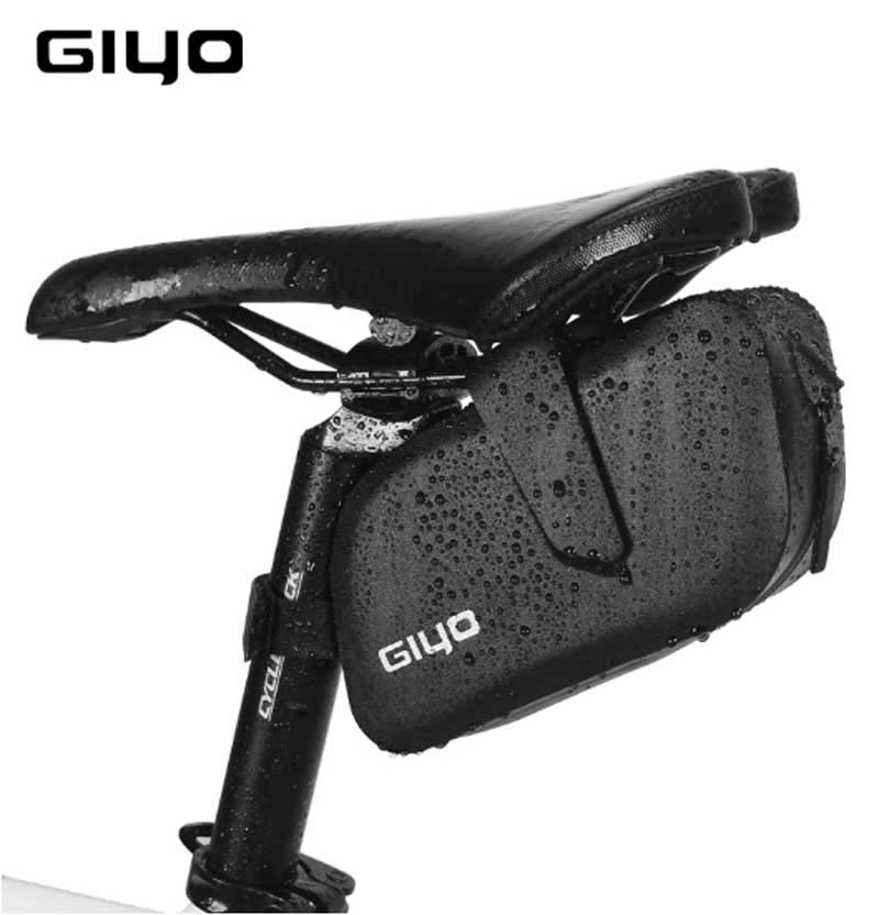 GIYO Cycling Bicycle Bags Pouch Holder Saddle Bag Tail Seat Waterproof Storage Bags Top Quality in Bicycle Bags Panniers from Sports Entertainment