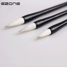 Pen Calligraphy-Brushes Traditional-Chinese-Writing-Brushes EZONE Wool-Hair-Brush Different-Size