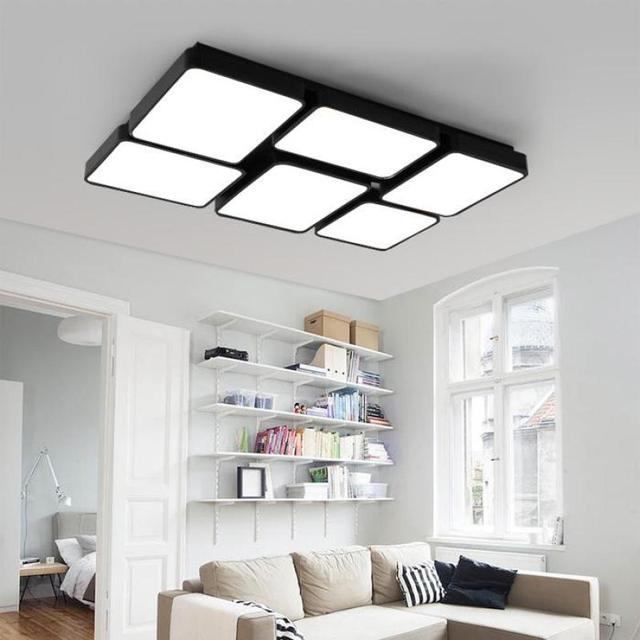 Commercial Led Office Lighting: Home Office Led Panel Light Study Large Rectangular Led