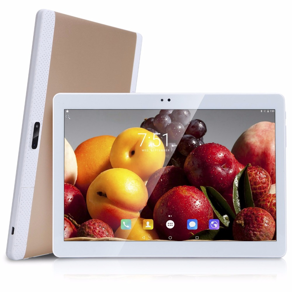 4G LTE 10.1inch tablet PC Android 7.0 2018 Newest Octa Core 4G RAM 1920*1200 WIFI GPS 8 9 3/4G Dual sim card Phone Call Tablet