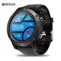New Zeblaze VIBE 3 Pro Smart Watch Full Round Touch Real time Weather Optical Heart Rate Sleep Monitor All day Tracking Fitness