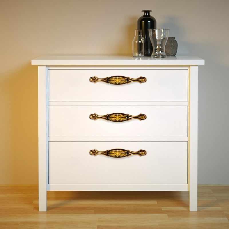 Ретро-мебель ручка элегантная винтажная бронзовые ручки для шкафа ручки шкаф ручка дверного шкафа Ручка для ящика шкафа