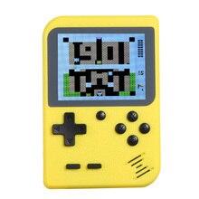 Mini Taşınabilir oyun konsolu 2.8in LCD 8 bit Klasik El Oyun Oyuncu Video Konsolu Dahili 168 Retro Oyunları Çocuklar Hediye