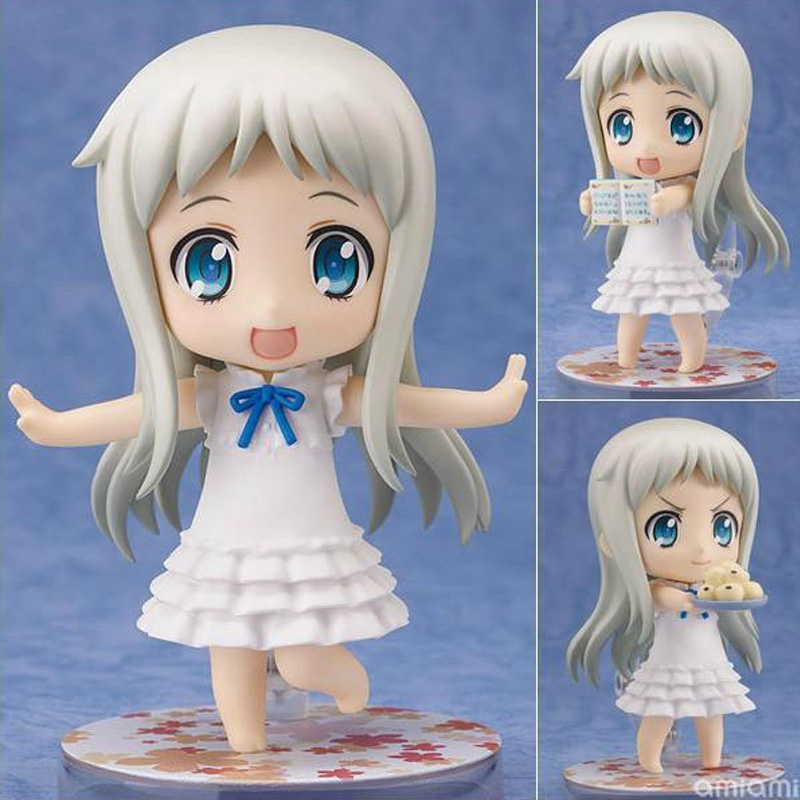 Honma Meiko Menma Cute Sexy Girl 204 Anohana That Flower PVC Action Figures Toys Anime Figure Toys For Kids Children Christmas