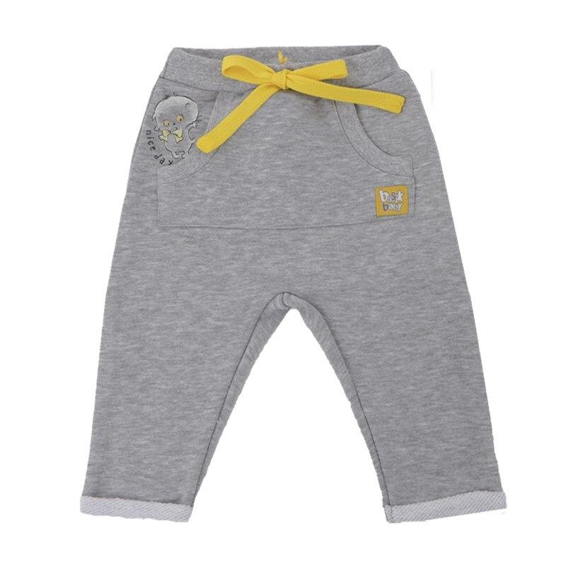 Basik Kids Pants with кармашком Kangaroo gray melange basik kids jacket parka with pocket gray