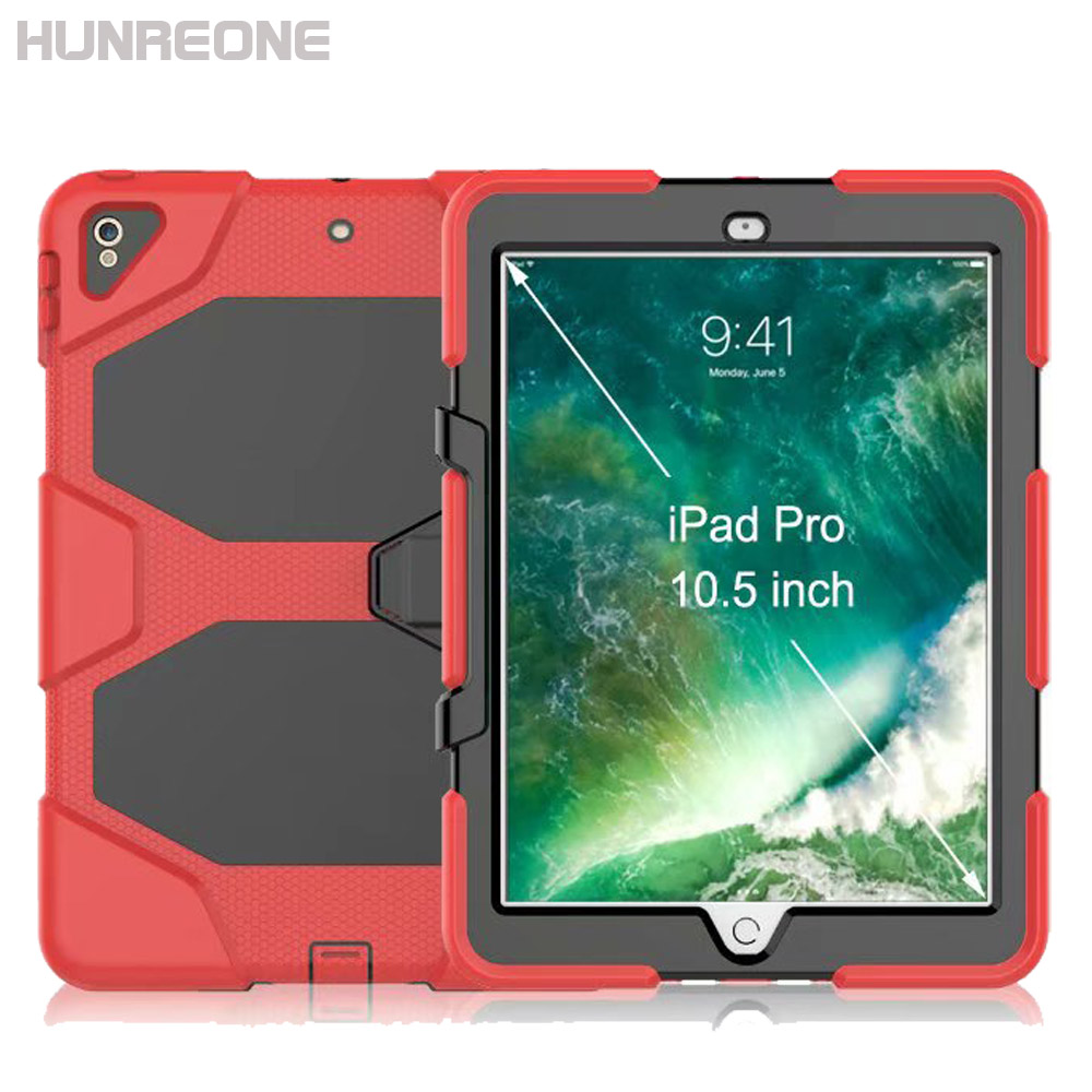Hunreone Outdoor Rugged Armor For Ipad Pro 10 5 Inch Tablet Pc Protection Case Cover Tablets E Books Case Aliexpress
