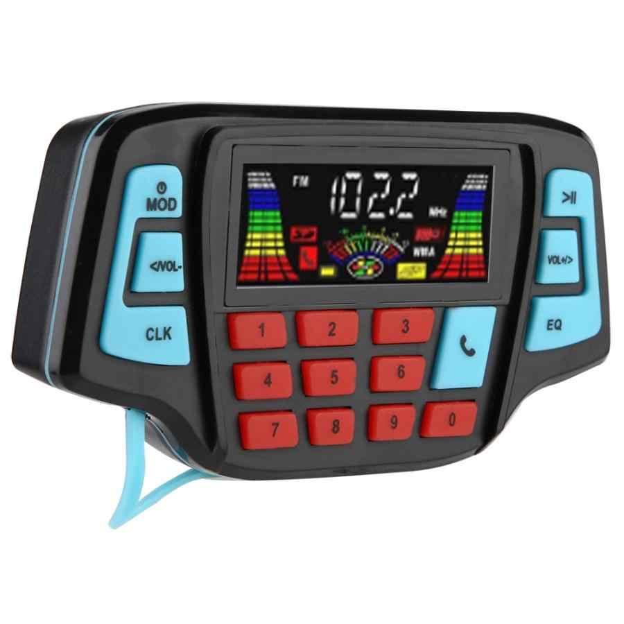 Bt MP3 Pemain Audio Stereo Speaker Sistem Motor Speaker Tahan Air Motor USB TF Card Carrier Altaboces Audio