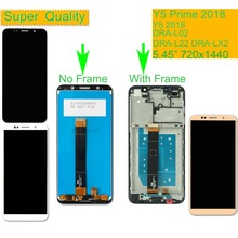 10Pcs/lot For Huawei Y5 Prime 2018 DRA-L02 DRA-L22 DRA-LX2 LCD Display Touch Screen Assembly With Frame Digitizer