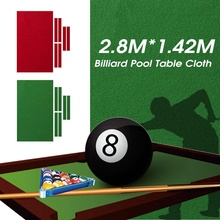 7099fb94b86 9ftx5ft Professional Green Red for American Billiard Snooker Pool Table  Cloth 9 Foot Pool Table