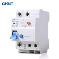 CHINT Small Earth Leakage Circuit Breakers NBE7LE 1P + N 40A With Electric Shock Protection Air Switch