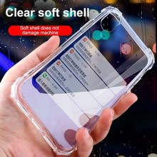 Phone Cases For Iphone 6 7 8 X XR 2019 New Cheap Clear soft Silicone Mobile