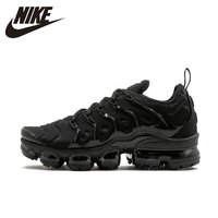 Nike Original New Arrival Authentic Air VaporMax Plus Breathable Men's Running Shoes Outdoor Sneakers #924453 004