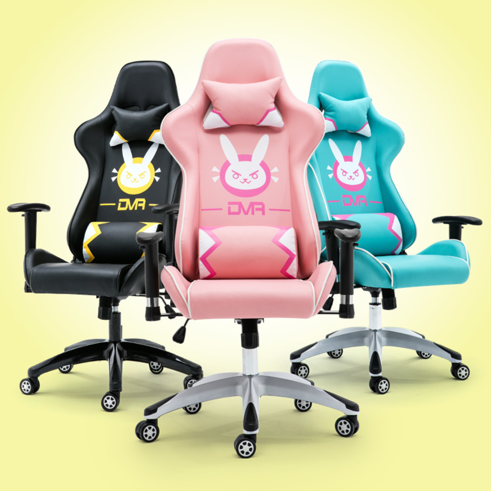new Game Home Computer LOL Keep Watch Vanguard DVA Pink Colour Dormitory The Main Sowing Chair