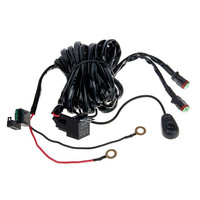 2M Car Switch Relay Fuse Wiring Harness Kit 14VDC 40A Rated Wiring Waterproof