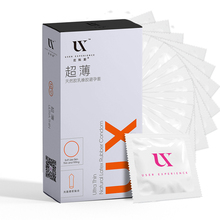 UX 4 Types Ultra Thin Condoms Sexy Latex Dots Pleasure Natural Rubber Condones Male Contraception Penis Sleeve 2pcs box vaginal female condoms sexy latex dots pleasure natural rubber condones women safety contraception sex product