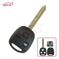 Kigoauto 736670 A Remote key 3 button no chip TOY47 434mhz for Toyota Avensis 2004 2005 2006 2007 2008 2009|Car Key| |  -