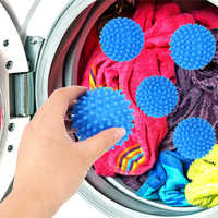 For Washing Machine Magic Washing Tool Laundry Balls Reusable Cleaning Drying Fabric Softener Ball PVC Dryer Balls