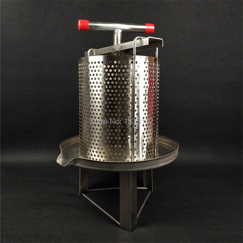Bee Wax Press Machine Beekeeping Equipment Beeswax Presser Tool Stainless Steel Honey Comb Beekeeper Supplies WP-2B Воск