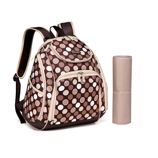 MKF Collection Amazing Mom Colorland Leslie Backpack