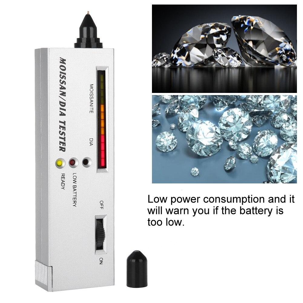 Moissan//Carborundum Diamond Stone Detector Jewelry Testing Tool Battery Included