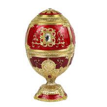 Европейская живопись креативный подарок украшения зубочистка коробка замок в форме яйца зубочистка Вечерние