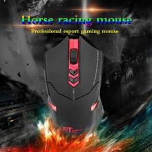 ET X-08 2000DPI Adjustable 2.4G Wireless Gaming Mouse LED backlight with USB Receiver Red Professional