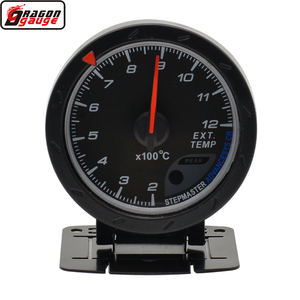 Dragon gauge 60mm Black Shell