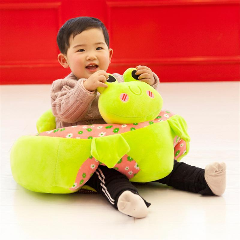 Colorful Baby Learning Sitting Seat Infant Chair Portable Seat Children's Plush Toy Baby Sofa Hot Selling Children's Plush Toy