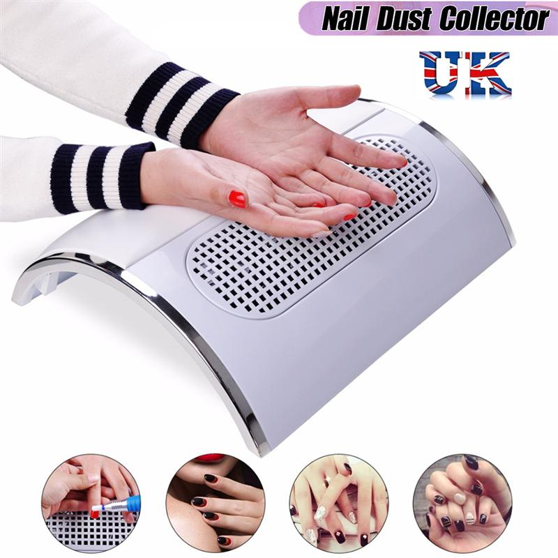 Nail Vacuum Cleaner Professional Nail Dryer Three Fans Powerful Manicure Salon Tools Nail Art Tools