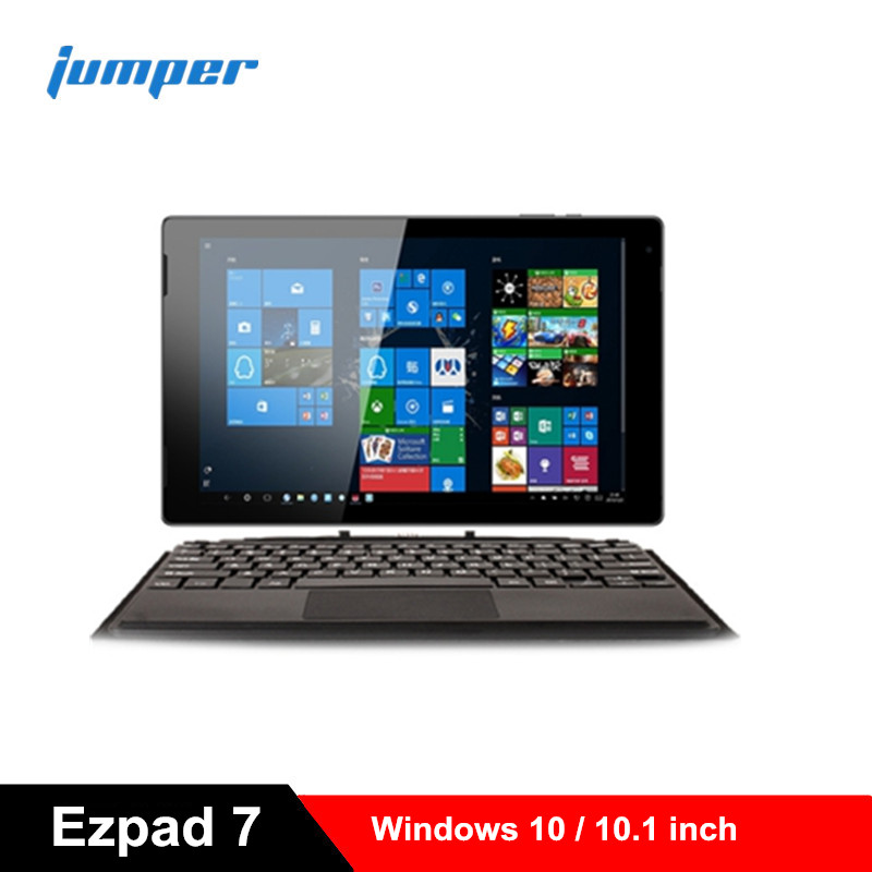Jumper EZpad 7 <font><b>Tablet</b></font> 2 in 1 <font><b>Tablet</b></font> PC <font><b>10.1</b></font>'' <font><b>Windows</b></font> <font><b>10</b></font> Intel Cherry Trail Z8350 Quad Core 1.44GHz 4GB RAM 64GB eMMC ROM image