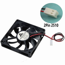 Free Shipping 10pcs/lot DC 12V 4pin 8cm 80mm 8015 Mini Cooler Cooling Fan 80x80x15mm